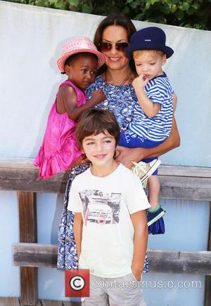 Mariska Hargitay, Amaya Andrew and August - The Children's Museum of The East End 5th Annual Family Fair at Children's...