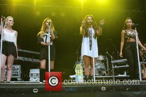 Little Mix Star Hit By Bottle During Festival Set