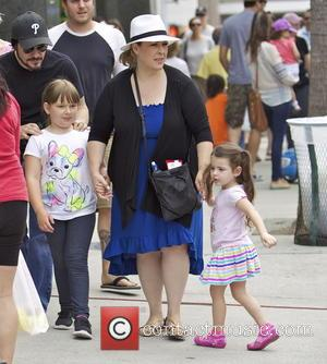 Carnie Wilson - Carnie Wilson visits the Farmers Market with...