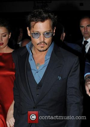 Johnny Depp & Amber Heard - Johnny Depp and Amber Heard Arrive at Cipriani Restaurant in London for dinner after...