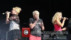 bucks fizz, Cheryl Baker, Jay Aston and Mike Nolan