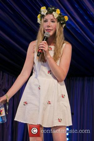 Katherine Ryan - Latitude Festival Final Day at Southwold - Southwold, United Kingdom - Sunday 21st July 2013