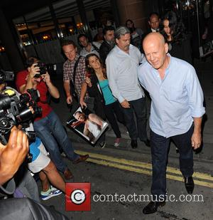 Bruce Willis and Emma Heming Willis - The Lone Ranger Afterparty at C Restaurant - London, United Kingdom - Sunday...