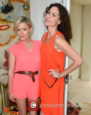 Kathleen Robertson and Minnie Driver