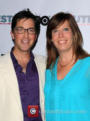 Dan Bucatinsky and Kirsten Shaffer - The 2013 Outfest Film Festival Closing Night Gala of 'G.B.F.' - Arrivals - Hollywood,...