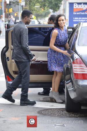 Chris Rock and Rosario Dawson