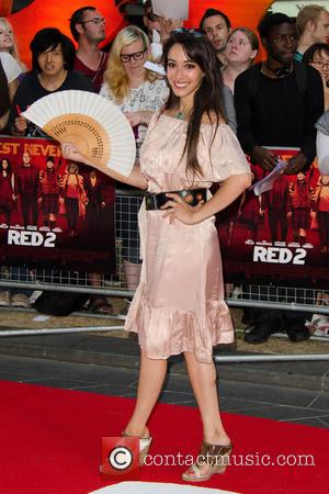 Oona Chaplin - Red 2 UK film premiere held at the Empire Cinema in Leicester Square - Arrivals - London,...