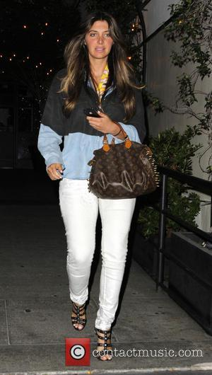 Brittny Gastineau - Brittny Gastineau leaves STK restaurant after having dinner - Los Angeles, California, United States - Monday 22nd...