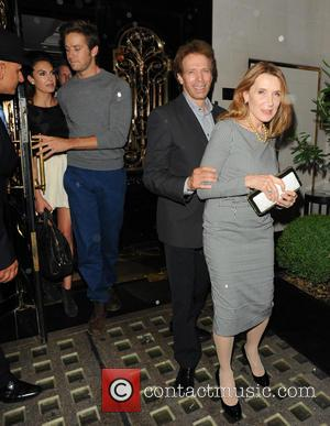 Elizabeth Chambers, Jerry Bruckheimer, Armie Hammer and Guest