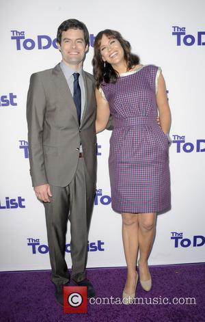 Bill Hader and Maggie Carey - Los Angeles premiere of 'The To Do List' at Regency Bruin Theatre - Los...