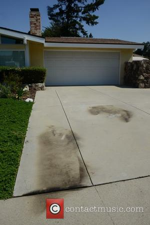 Bonnie Braaten and Fire Capt Scott Dettorre - Amanda Bynes starts a fire in the drive way of a ventura...