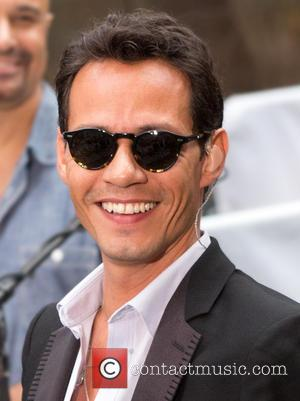Marc Anthony - Marc Anthony performs live as part of the Toyota Concert Series on NBC's 'Today' at Rockefeller Plaza...
