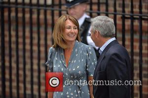 Prince Charles, Carole Middleton and Michael Middleton