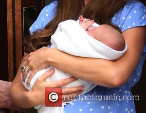 Prince William, Duke Of Cambridge, Catherine, Duchess Of Cambridge and Baby Cambridge