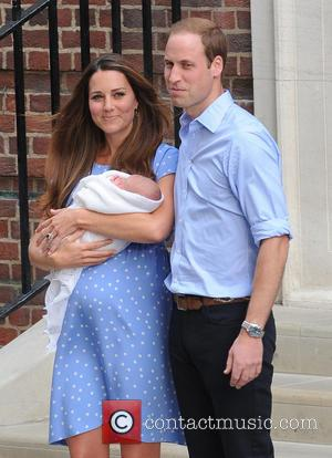 Kate Middleton, Duchess Of Cambridge, Prince William, Duke Of Cambridge and Baby Cambridge