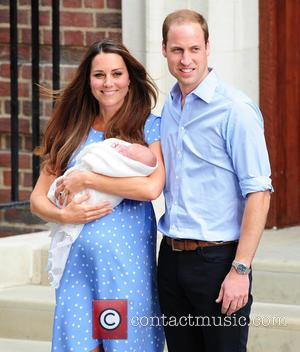 Catherine, Duchess Of Cambridge, Prince William, Duke Of Cambridge and Baby