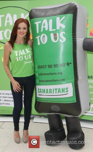 Maria Fowler - Maria Fowler attends a photocall at Waterloo Station to raise awareness for the Samaritans - London, United...