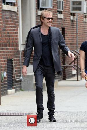 Rhys Ifans - Celebrities on the movie set of  'Squirrels to the Nuts' filming on location in Astoria -...