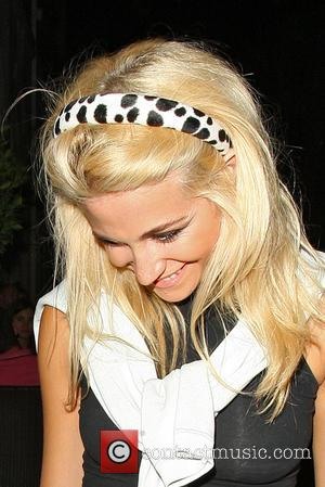 Pixie Lott Plays Bridesmaid At Sister's Wedding