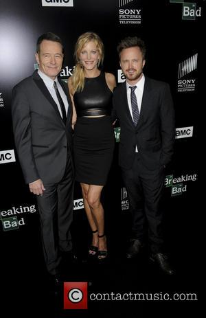 Aaron Paul And Bryan Cranston Drive Rv To Breaking Bad Premiere