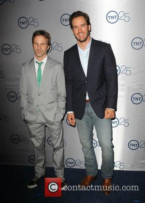 Breckin Meyer and Mark-Paul Gosselaar - TNT's 25th Anniversary Party held at the Aqua Star Pool at The Beverly Hilton...