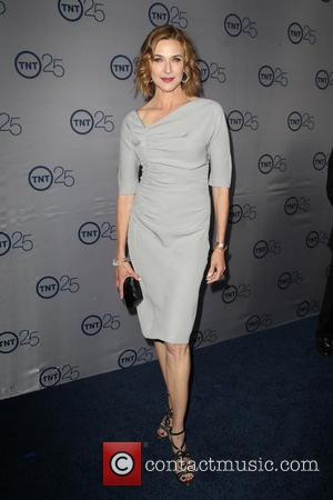 Brenda Strong - TNT's 25th Anniversary Party held at the Aqua Star Pool at The Beverly Hilton Hotel - Beverly...