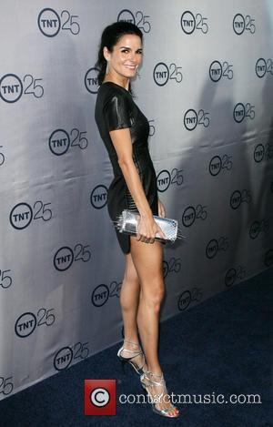 Angie Harmon - TNT's 25th Anniversary Party held at the Aqua Star Pool at The Beverly Hilton Hotel - Los...