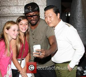 Will.i.am and Psy