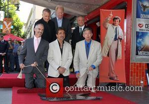 Councilmember Mitch O'farrell, Joe Mantegna, Leron Gubler, Paul Reiser, Ed Begley, Jr and David Green