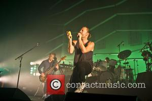 Thom Yorke - Atoms For Peace performing live at the Roundhouse in London. - London, United Kingdom - Thursday 25th...