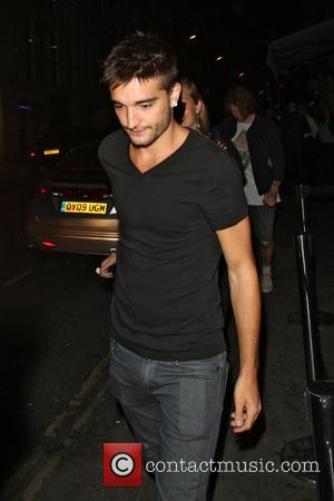 Tom Parker - Celebrities at Mahiki including Jay McGuiness from the Wanted who was celebrating a 23rd birthday - London,...