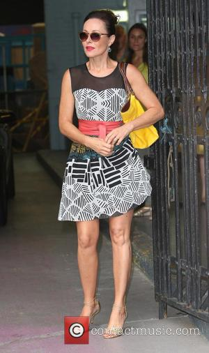 Amanda Mealing - celebrities at the ITV Studios - London, United Kingdom - Thursday 25th July 2013