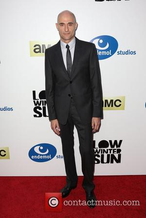 Mark Strong - Los Angeles premiere of AMC's 'Low Winter Sun' held at the Arc Light Hollywood - Los Angeles,...
