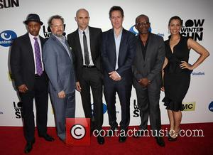 Ruben Santiago-hudson, David Costabile, Mark Strong, Chris Mundy, Lennie James and Athena Karkanis