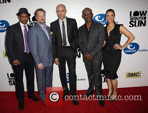 Ruben Santiago-hudson, David Costabile, Mark Strong, Lennie James and Athena Karkanis