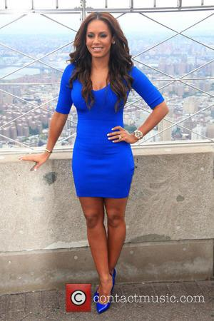 Mel B and Melanie Brown - Mel B promotes 'America's Got Talent' at the Empire State Building - New York...