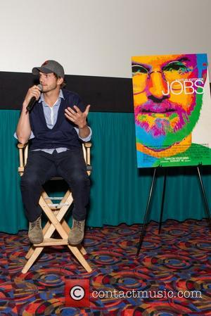 Ashton Kutcher - Open Road Films Q&A for the new Steve Jobs Biopic