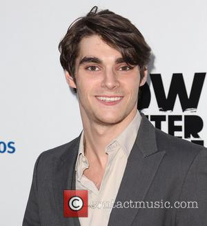 RJ Mitte - Celebrities attend AMC's 'Low Winter Sun' Los Angeles premiere at Arc Light Hollywood - Arrivals - Los...