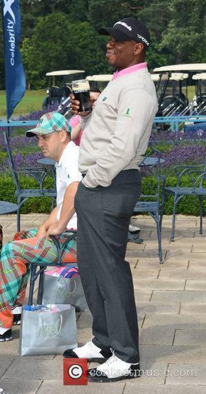 Ian Wright - Ronan Keating's annual Maire Keating Foundation Golf Classic in the K-Club - Dublin, Ireland - Friday 26th...