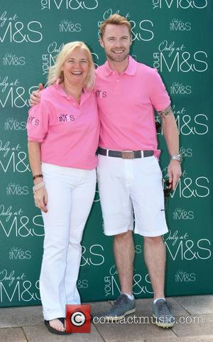 Linda Keating and Ronan Keating