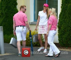 Ronan Keating, Storm Uechtritz and Linda Keating