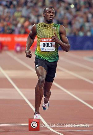 Usain Bolt - The Sainsbury's Anniversary Games held at The Stadium in Queen Elizabeth Olympic Park - London, United Kingdom...