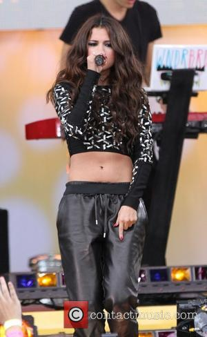 Selena Gomez - Selena Gomez performs as part of GMA's 2013 Summer Concert Series held at Rumsey Playfield in Central...