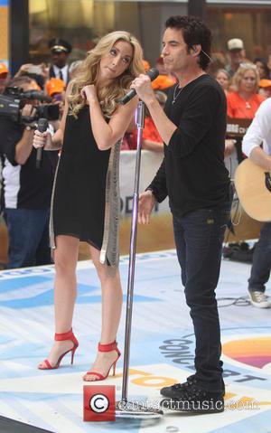 Pat Monahan and Ashley Monroe