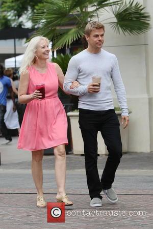 Derek Hough and Shirley Ballas