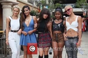 G.R.L - Girl group G.R.L at The Grove - Los Angles, CA, United States - Friday 26th July 2013