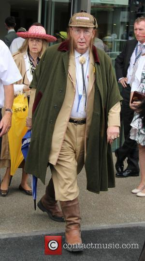 John McCririck - The King George VI and Queen Elizabeth Stakes at Ascot racecourse - Ascot, United Kingdom - Saturday...