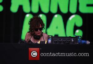 Annie Mac and Annie MacManus - Global Gathering 2013 - Day 2 - Performances - Stratford-upon-Avon, United Kingdom - Saturday...
