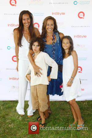 Donna Karan, Gabby and grandkids - The Ovarian Cancer Research Funds Super Saturday 16 at the world famous Garage Sale...