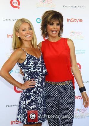 Kelly Ripa and Lisa Rinna